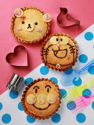 楽しいどうぶつカップケーキ