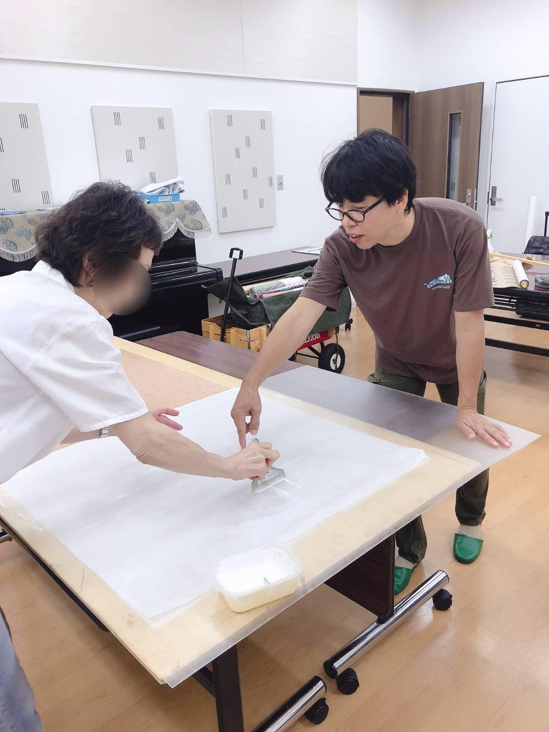 【三木校】通期:楽しい表装セミナー・日曜クラス 20/06/07~20/11/01