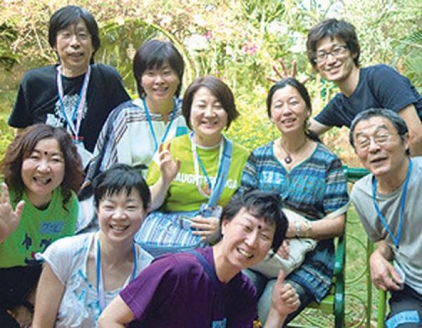 """【三木校】通期:"""" 笑い """" でリフレッシュ! ラフター( 笑い)ヨガ 21/07/08~21/11/11"""