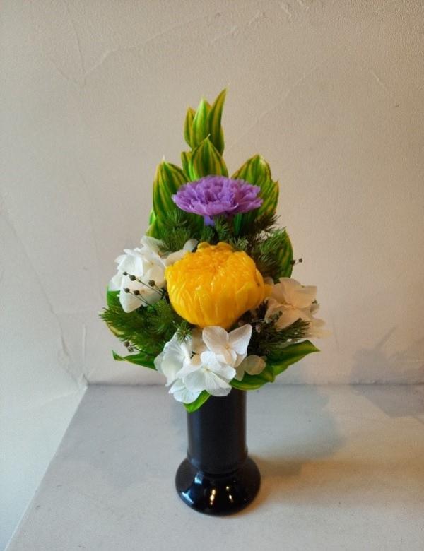 1DAY:プリザーブドフラワーでおしゃれな仏花を作ろう 21/10/05