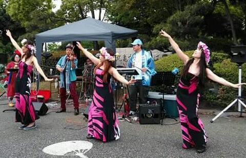 体験:タヒチアンダンス
