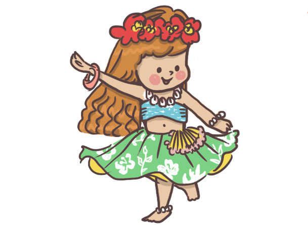 通期:ハワイアンダンス 木曜クラス