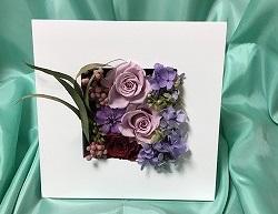 1DAY:プリザーブドフラワー 「母の日に贈るフレーム・アレンジメント」