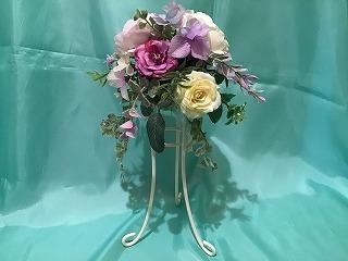 1DAY:アーティフィシャルフラワー 「母の日に贈るスタンド・アレンジメント」