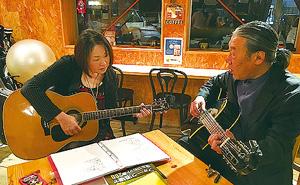 体験:マンツーマンレッスン 「 土曜のフォークギター♪ 」
