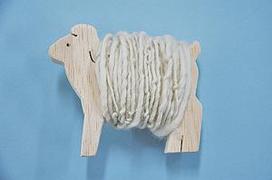 1DAY:手つむぎ糸 de 羊のオブジェ
