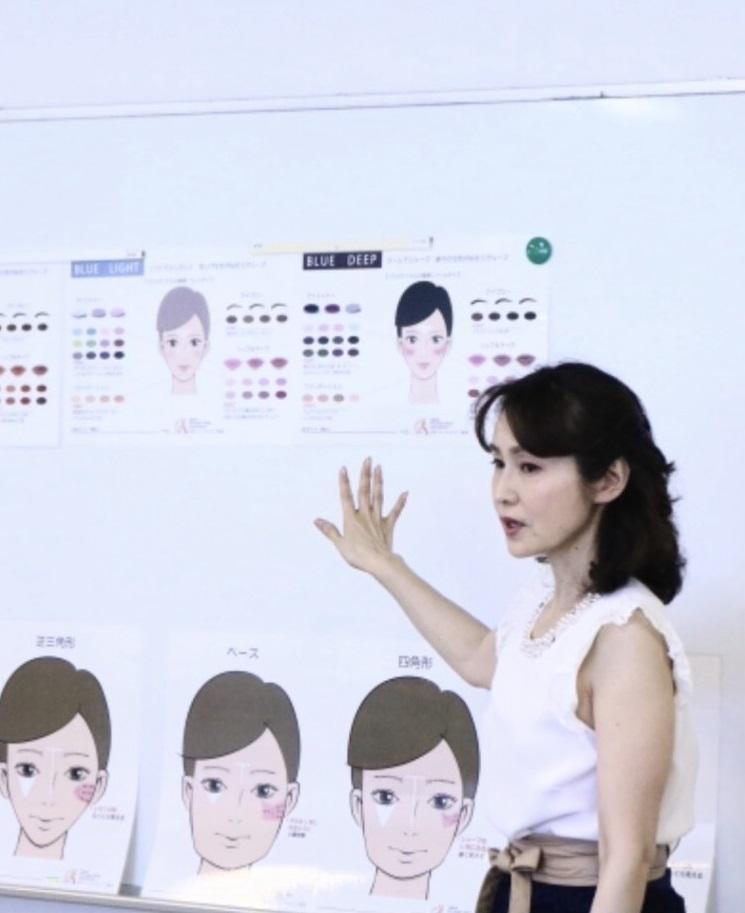 1Day : 肌色診断に基づく魅力分析メイク