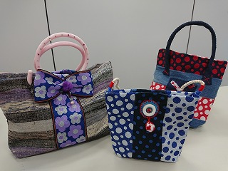 1Day:【高松校】 畳縁(たたみべり)の bag 『 リメイク講座 』