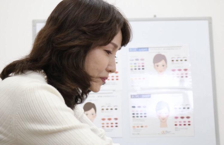1Day :【高松校】 肌色診断に基づく魅力分析メイク