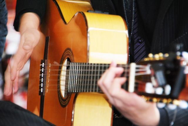 体験:フラメンコギター・1日体験教室 3月13日他