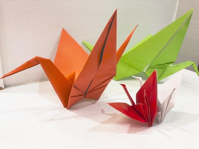 1Day:実用折り紙教室・4月 ~3種の鶴~