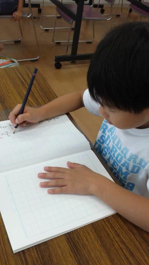 体験:春杪先生の子ども書道&硬筆教室・3DAY体験【日曜クラス・6/30~】