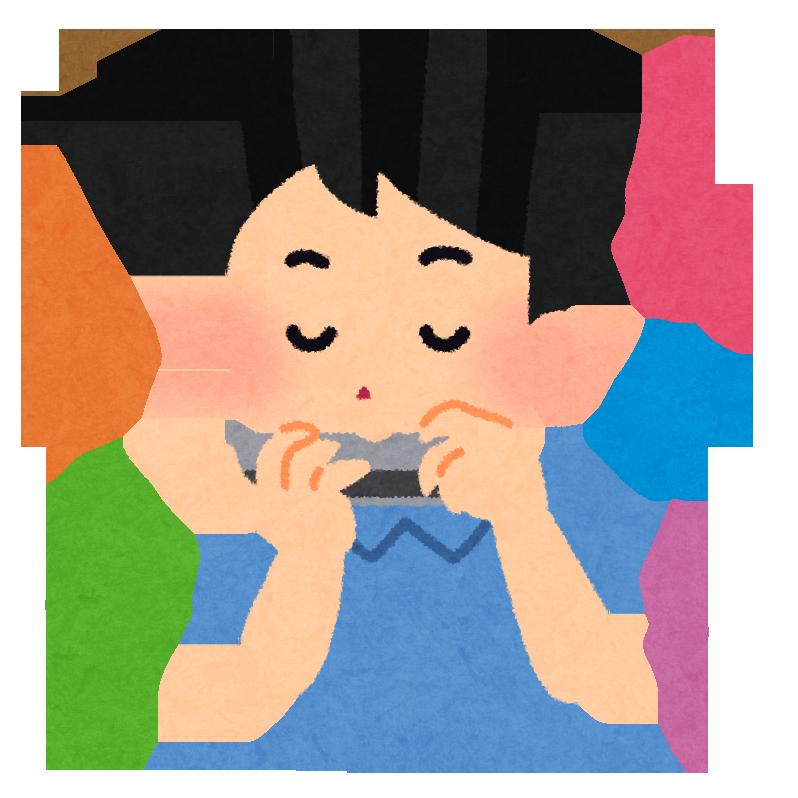 体験:楽しいハーモニカ教室・高松校金曜(経験者)クラス 8月