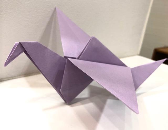 1Day:折り紙教室~羽ばたく鶴~ 9月13日