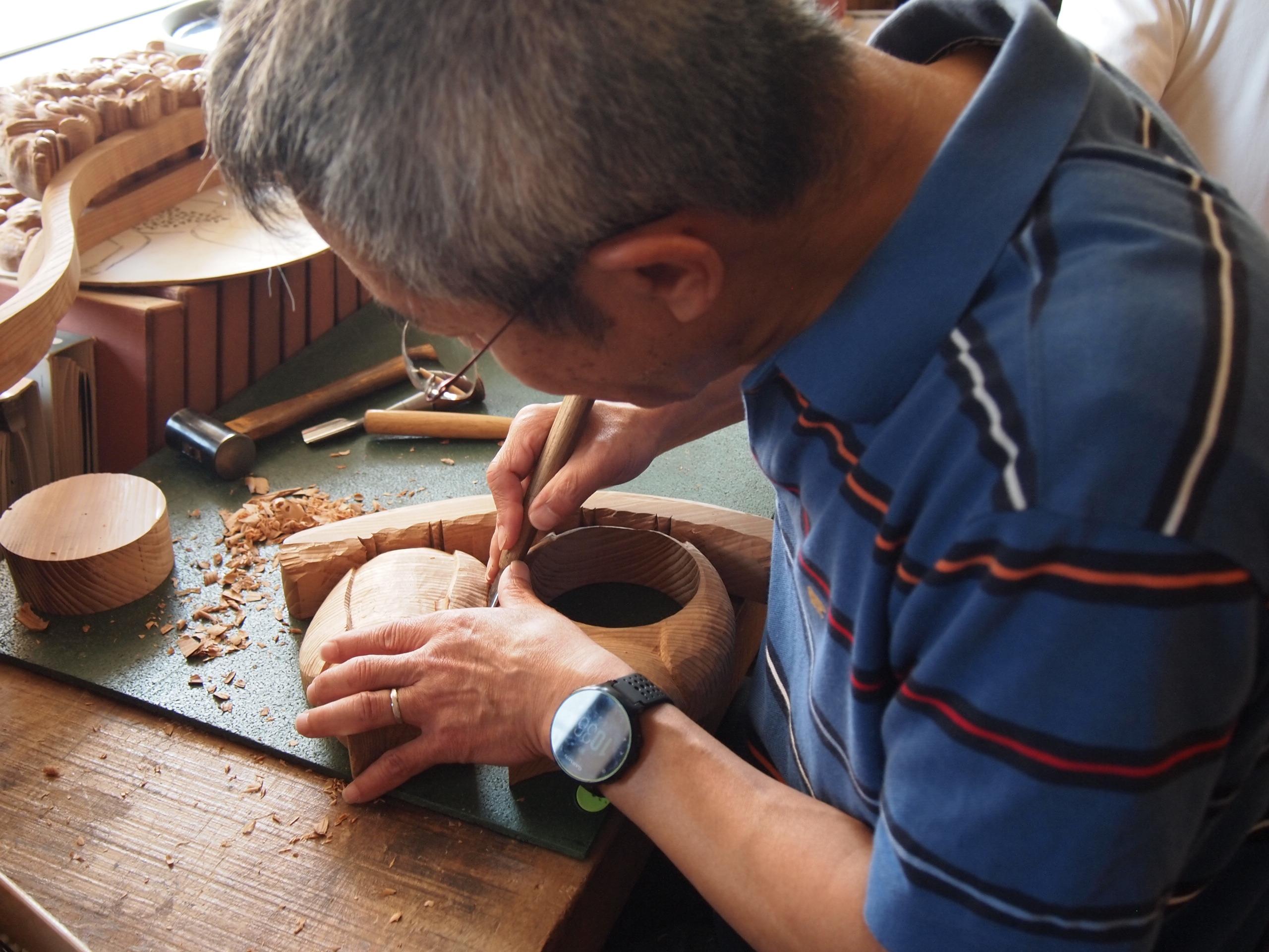 通期:香川県伝統工芸士に学ぶ やさしい木彫り教室【土曜クラス】 10月5日~