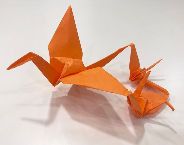 1Day:折り紙教室・折鶴シリーズ~連鶴・呉竹(くれたけ)~ 11月8日