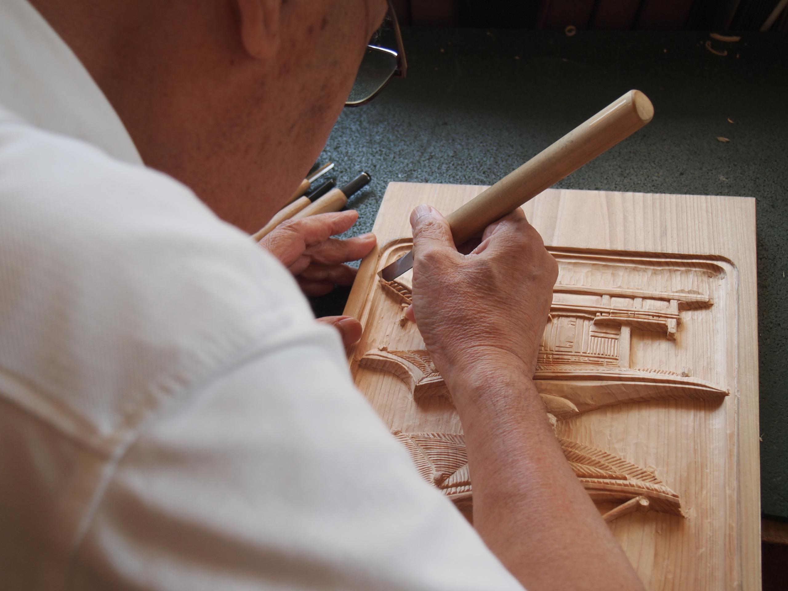通期:香川県伝統工芸士に学ぶ やさしい木彫り教室【火曜クラス】 12月3日~