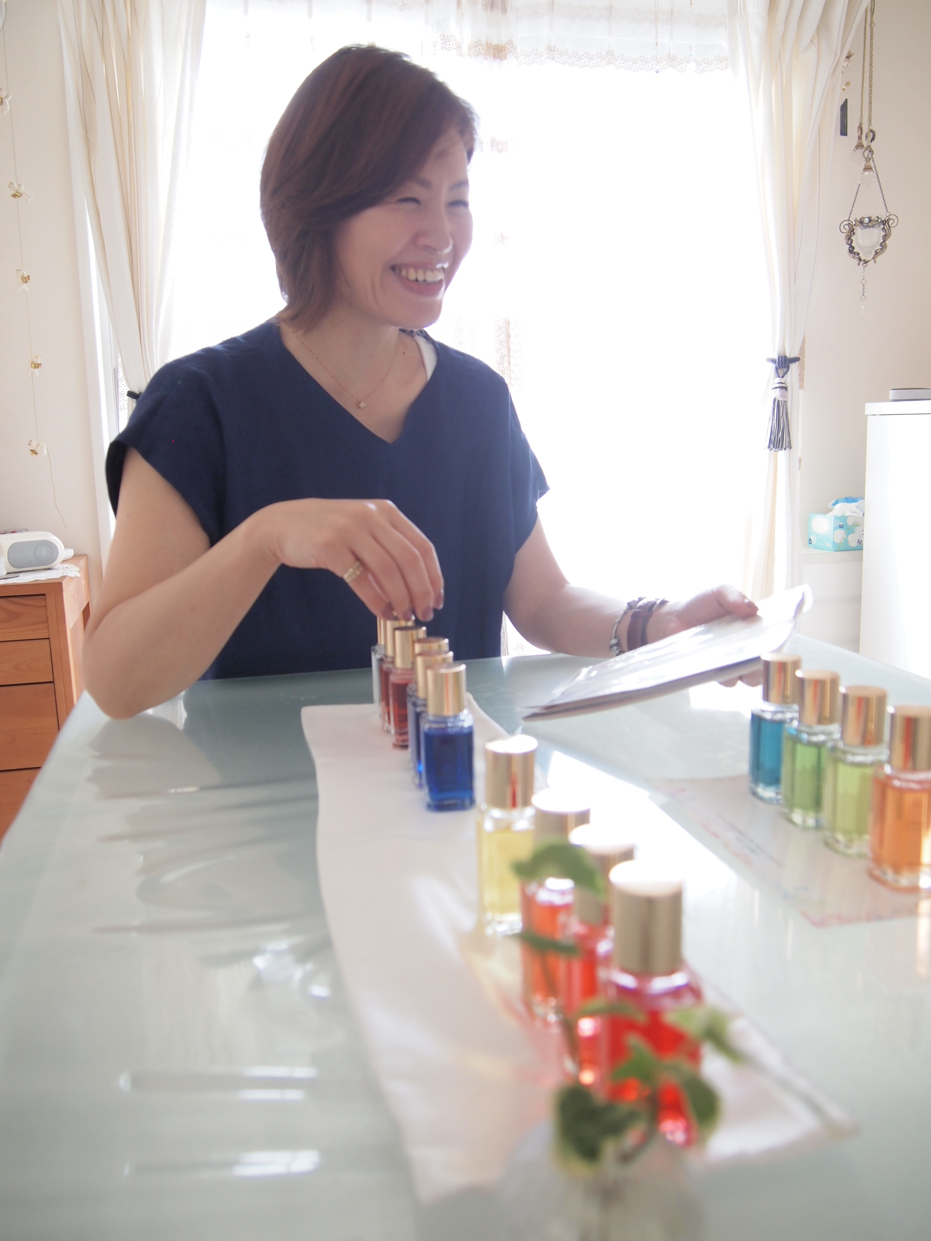 1Day:14色のカラーボトル付き!TCカラーセラピスト養成講座 9月