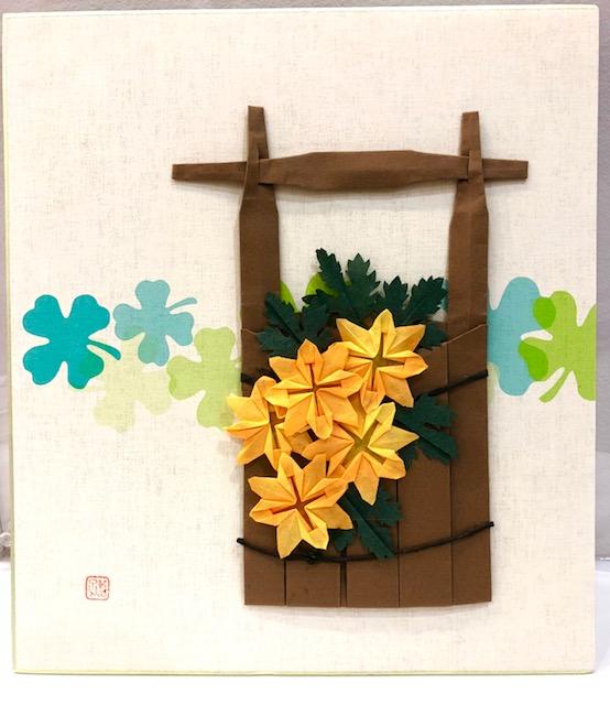 【高松本校】1Day:実用折り紙教室 ~菊~ 10月