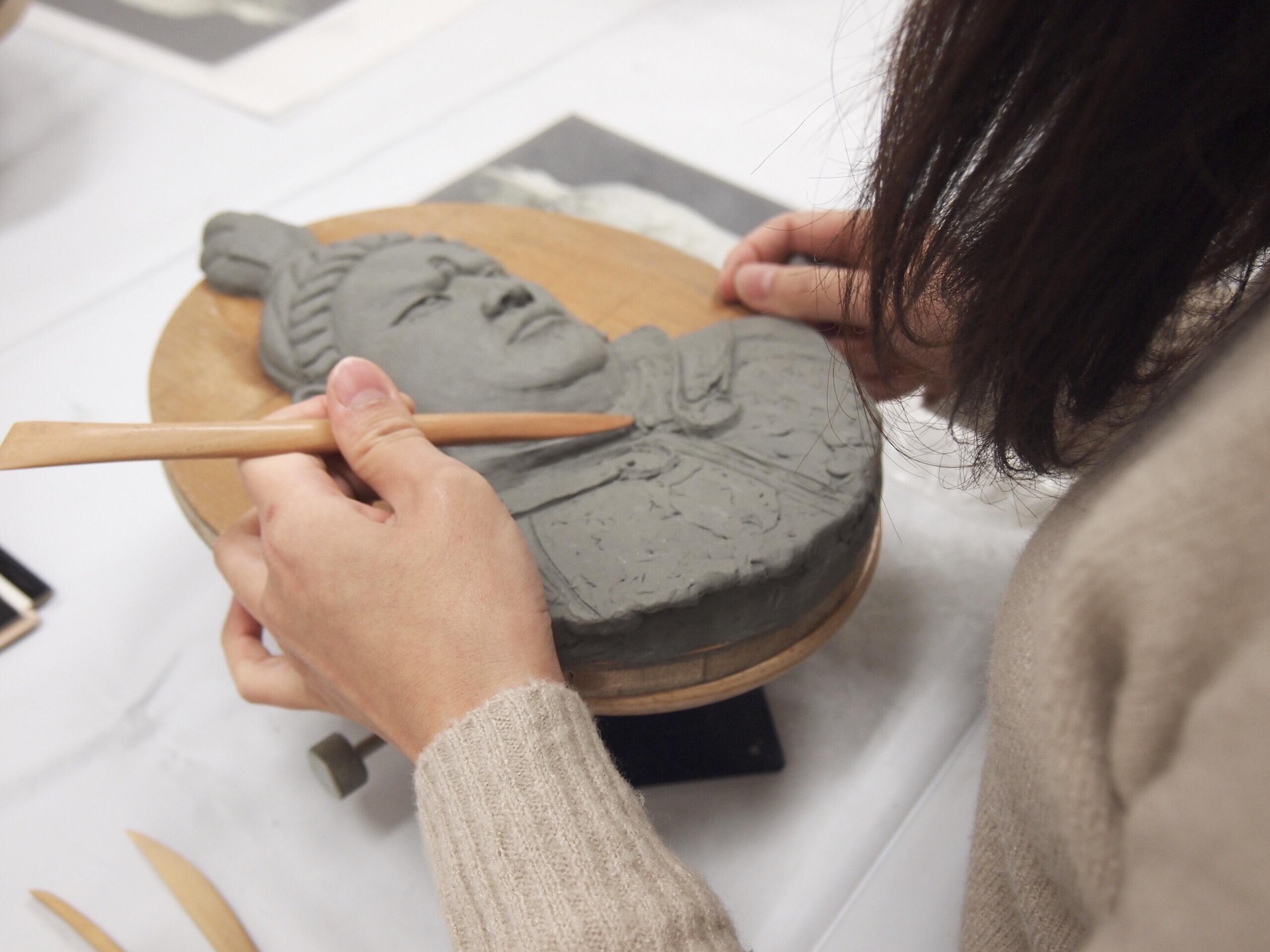 通期:~奥深い仏教美術の世界~ 粘土造形講座 5月12日~