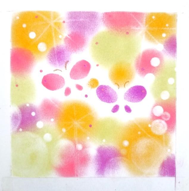 1Day:あなたの色発見!パステルアート&セラピー講座 8月