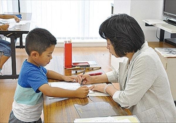 体験:邑華先生のこども書き方教室 11月
