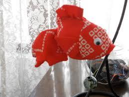 1DAY:古布で作る  金魚の吊るし飾り