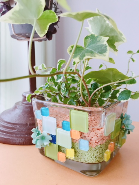 単発:夏休み宿題対応講座 かわいい!わたしの夏のガラス鉢
