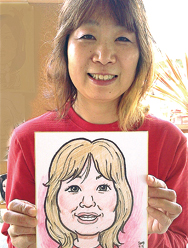 通期:人気の似顔絵師に習う 似顔絵教室