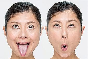 体験:お顔の表情筋を楽しく鍛える 顔ヨガ講座 19/04/16
