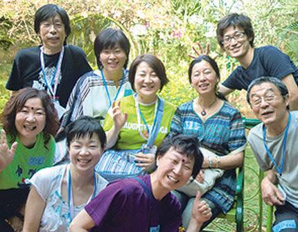"""通期:"""" 笑い """" でリフレッシュ! ラフター( 笑い)ヨガ 19/05/09~19/07/25"""