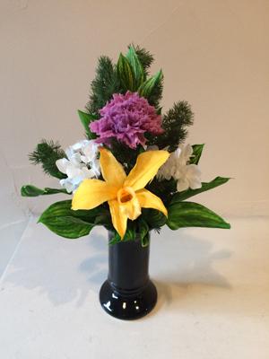 1DAY:プリザーブドフラワーでおしゃれな仏花を作ろう 19/06/04