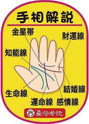 体験:幸せを招く手相・入門クラス1日体験講座 19/09/25