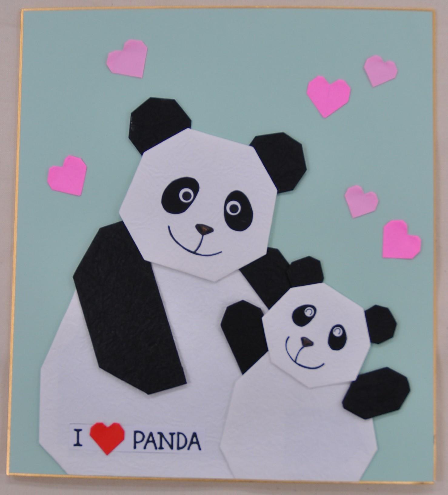 【三木校】1Day:実用折り紙教室・5月~I Love PANDA~ 20/05/11