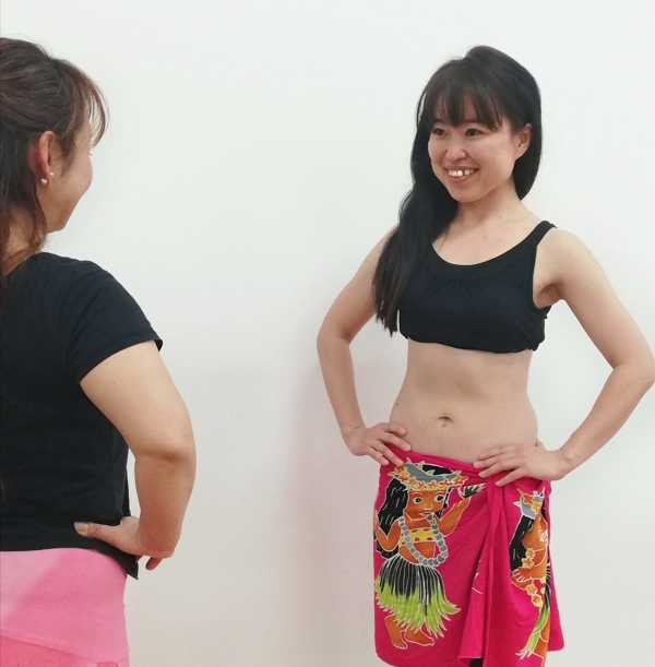 体験:くびれ美人を目指す! タヒチアンダンスエクササイズ