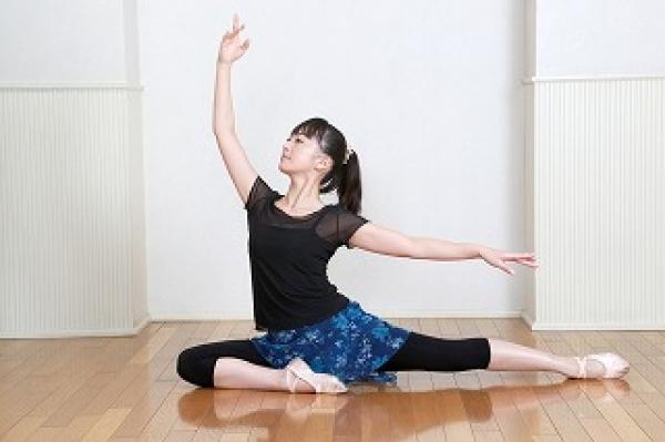 体験:しなやかなボディラインへ バレエ・コア・ストレッチ 月曜クラス 7・8月