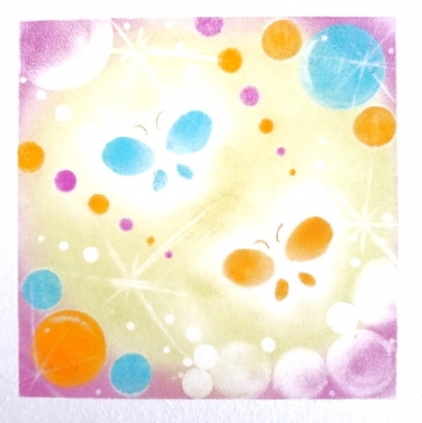1Day:あなたの色発見!パステルアート&セラピー講座 8・9・10月