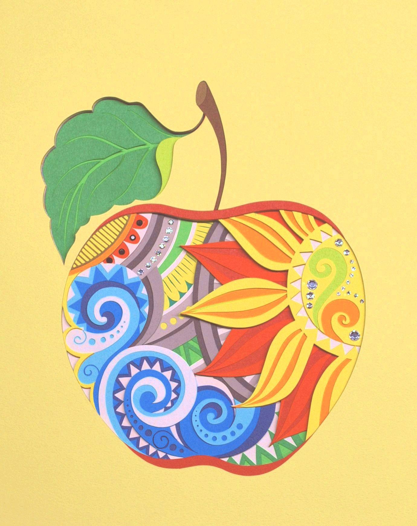 通期:カラフル&立体切り絵「彫紙(ちょうし)アート」
