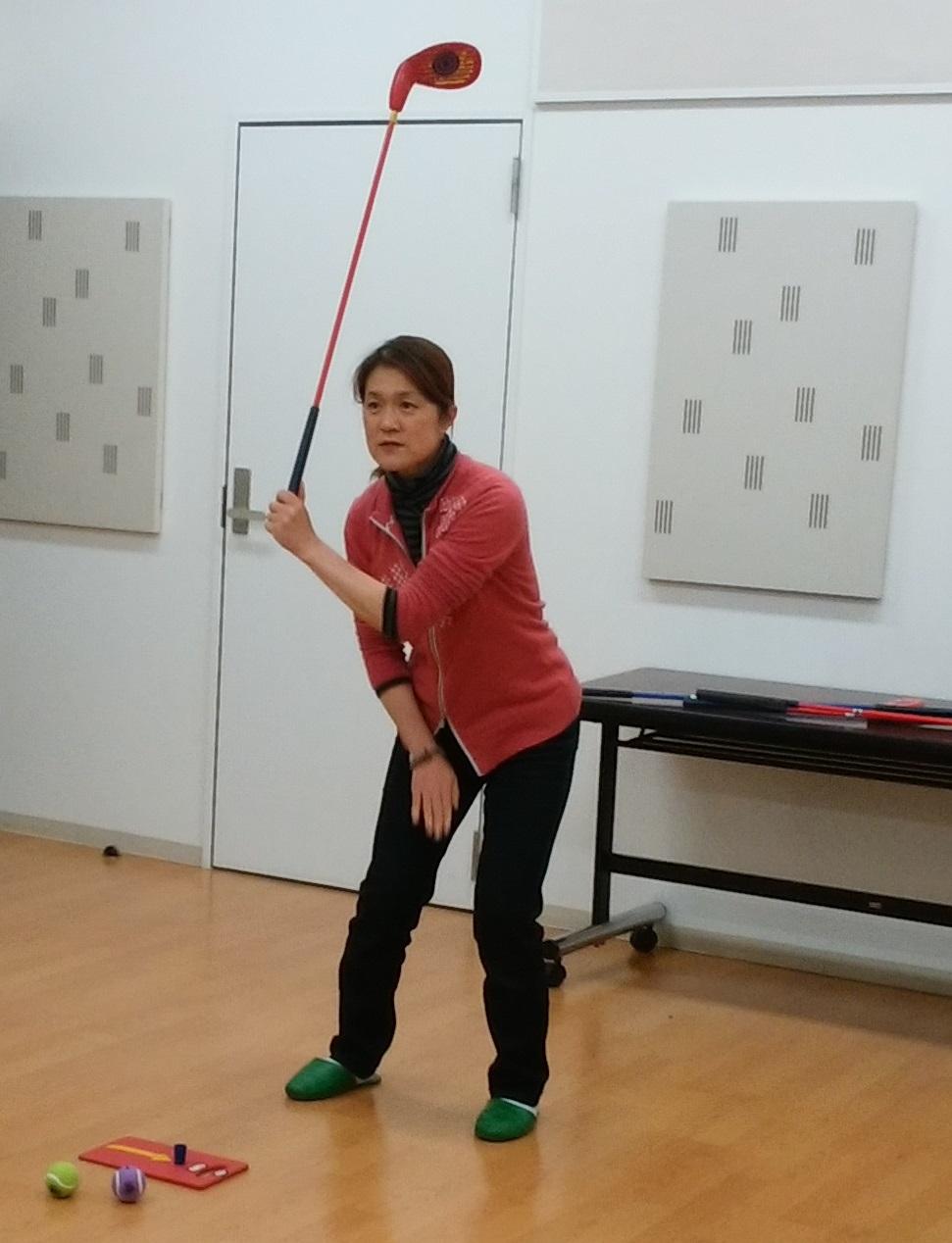 単発:屋内で学ぼう!ゴルフ座学講座