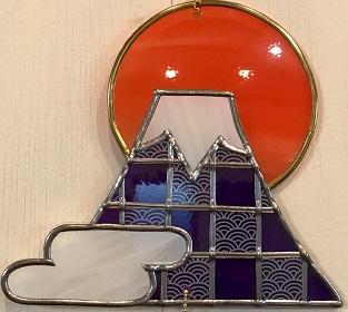 1DAY:グラスアート 「富士山」