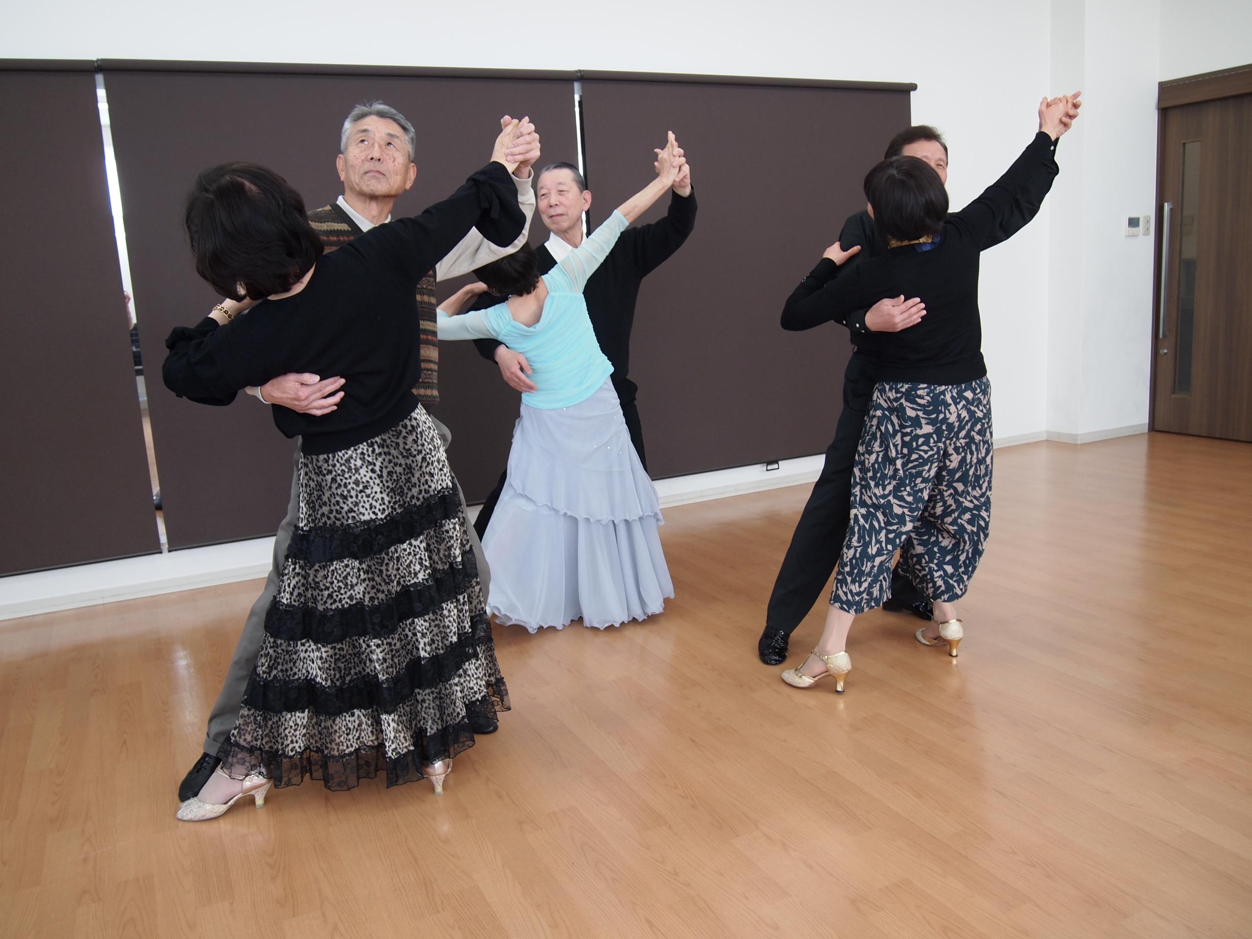体験:社交ダンス・1日体験教室 【土曜クラス】 4月
