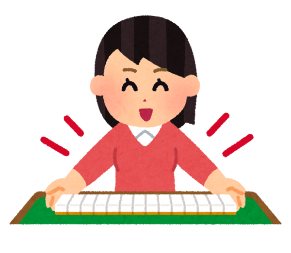 【高松本校】 体験:プロに教わる はじめての健康麻雀・1日体験教室 火曜クラス 8月