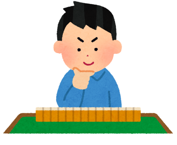 高松校:通期 プロに教わる はじめての健康麻雀(日曜クラス) 8/8~