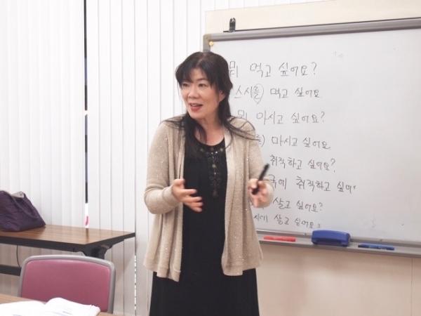 通期:初心者向け! スジョン先生の韓国語 8/19~