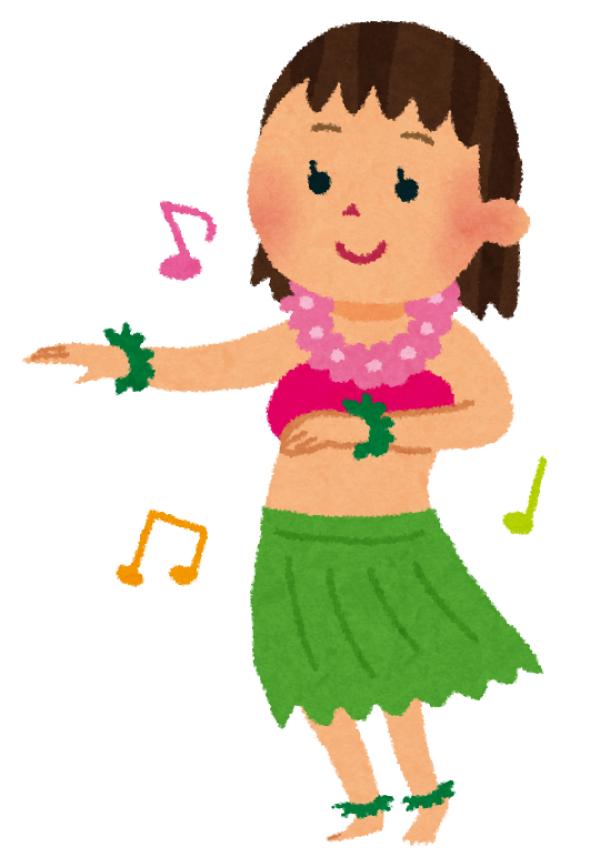 通期:ハワイアンダンス 水曜・初心者クラス