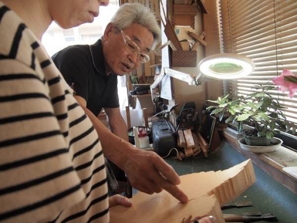 通期:香川県伝統工芸士に学ぶ やさしい木彫り教室【木曜クラス】 9/30~