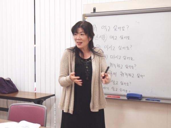 通期:初心者向け! スジョン先生の韓国語 10/14~