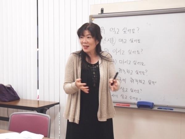 大岡様専用 通期:初心者向け! スジョン先生の韓国語 10/7~