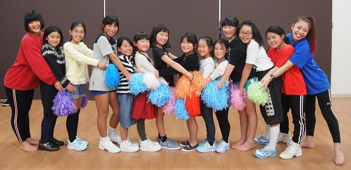 通期:かわいく楽しく! チアダンス ・ジュニアクラス(3回コース)